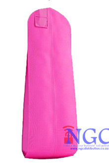 Extra Large Pink Non Woven Pink Garment Cover